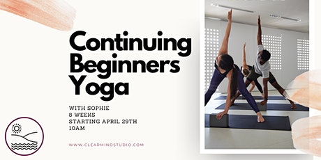 Continuing Beginners Yoga tickets