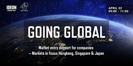 Going Global - Hongkong, Singapore & Japan tickets