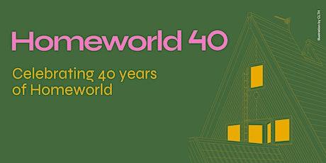 Homeworld 40 - Documentary Film Premiere and Q&A biglietti