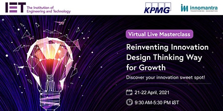 Reinventing Innovation 'Design Thinking Way for Growth' tickets