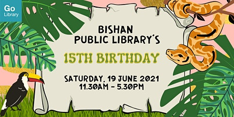 Animal Character Design Pop-up Station |Bishan Public Library's Anniversary tickets