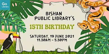 Animal Bookmarks | Bishan Public Library's Anniversary tickets
