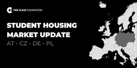 Student Housing Market Update - Central Europe tickets