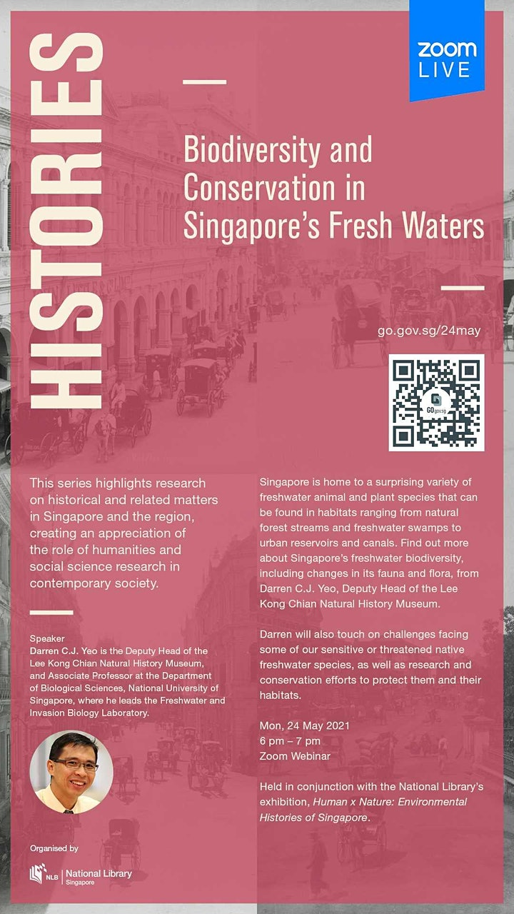 Histories: Biodiversity and Conservation in Singapore's Fresh Waters image