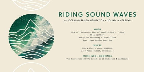 Riding Sound Waves | an Ocean-Inspired Meditation + Sound Immersion tickets