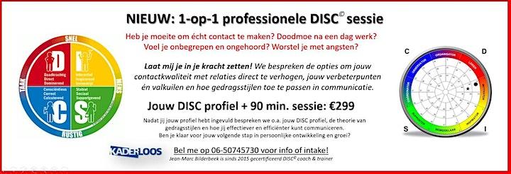 """Afbeelding van Online DISC training """"F*ck the cloud, echt contact is goud!"""""""