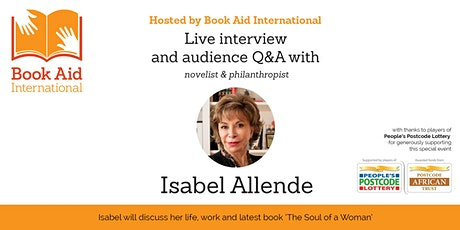 Live interview and Q&A with Isabel Allende tickets