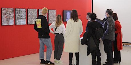 Mediación en sala  exposición New Ego - abril entradas