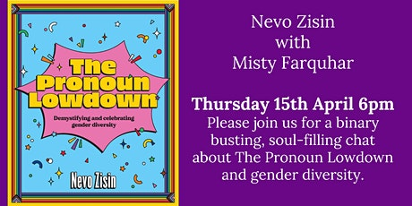 Nevo Zisin: The Pronoun Lowdown tickets