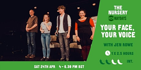 Online Improv Elective: Your face, your voice tickets