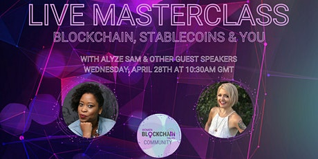Masterclass - Blockchain, Stablecoins and You - with Lavinia D Osbourne tickets