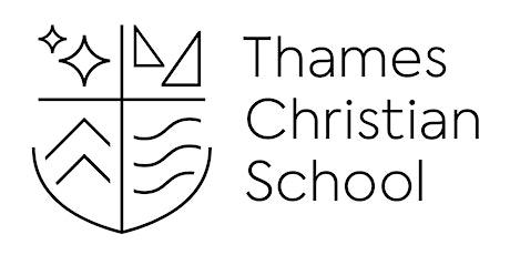 Thames Christian School Virtual Open Morning tickets