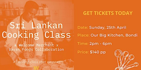 An Empowering Sri Lankan Cooking Class! tickets