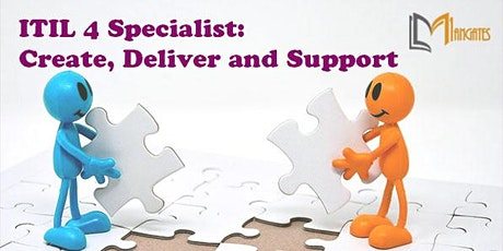 ITIL 4 Specialist: Create, Deliver and Support VirtualTraining in Kitchener tickets