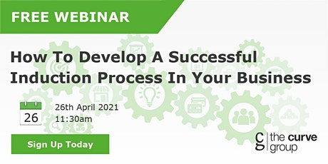 How To Develop A Successful Induction Process In Your Business tickets