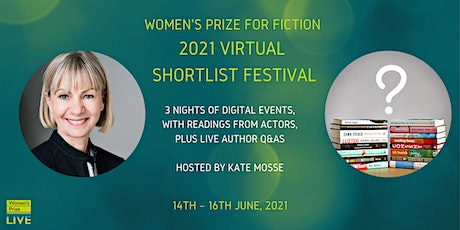 Women's Prize Live: 2021 Virtual Shortlist Festival tickets