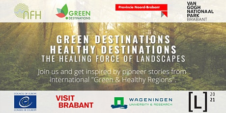 Green Destinations - Healthy Destinations: The healing force of landscapes tickets