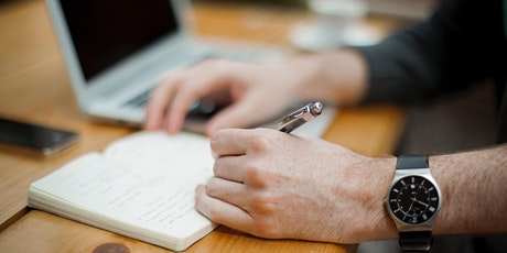 PGR Virtual Writing Retreat - April half day tickets