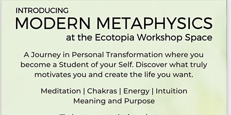 Modern Metaphysics Introductory Session tickets