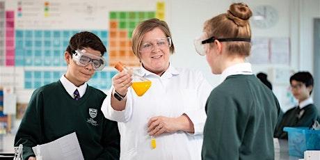 Get into Teaching Science Subject Focus Webinar tickets