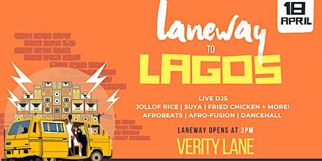 Laneway to LAGOS tickets