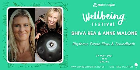 Shiva Rea & Anne Malone - Rhythmic Prana Flow & Soundbath tickets