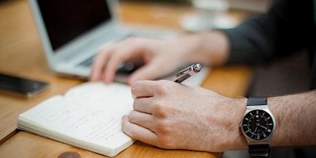 PGR Virtual Writing Retreat - June half day tickets