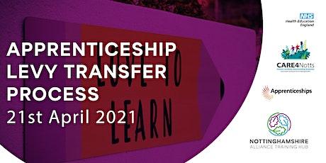 Apprenticeship Levy Transfer Process tickets