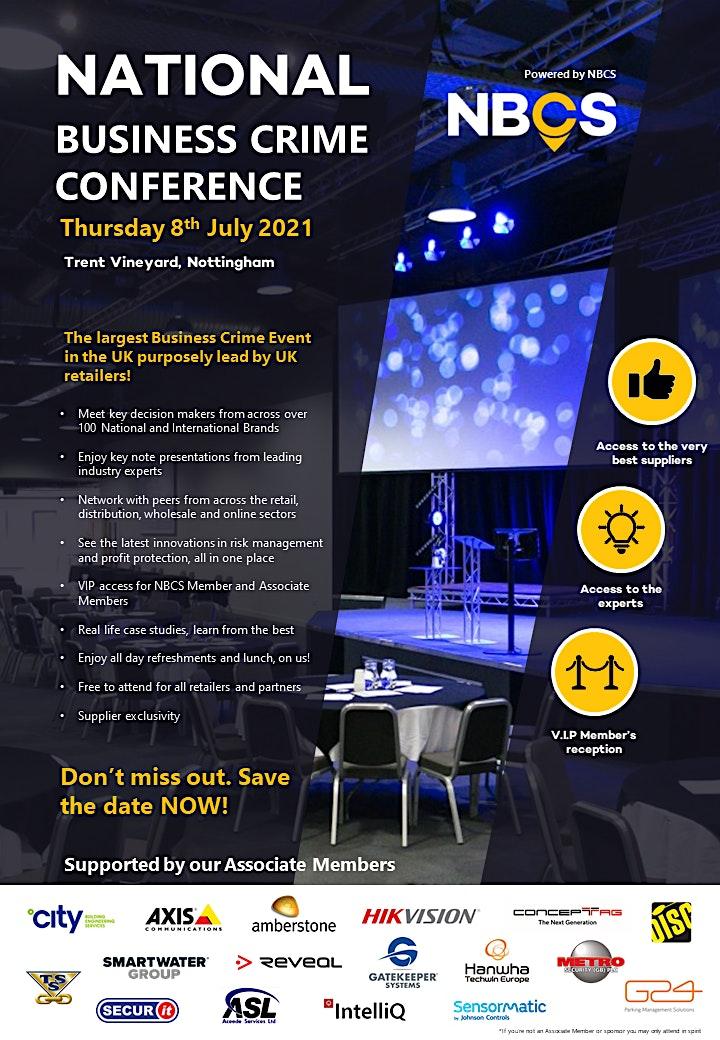 National Business Crime Conference - JULY 2021 image