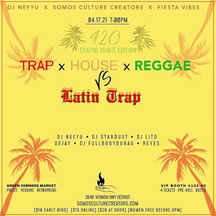 Trap x House x Reggae image