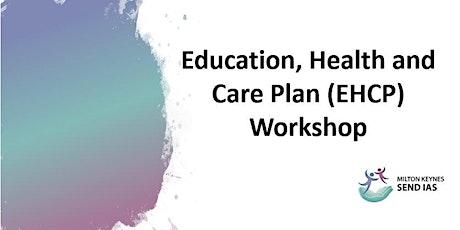 Education, Health & Care Plan (EHCP) Workshop - Microsoft Teams tickets