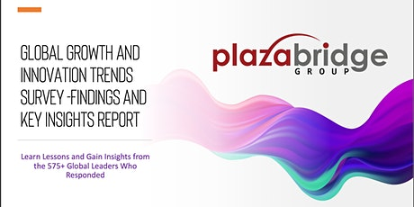 Global Growth and Innovation Trends Survey -Findings and Key Insights tickets