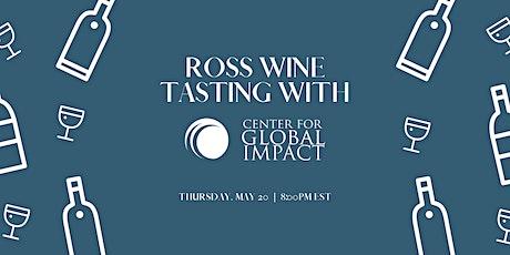 Ross Wine Tasting Tickets