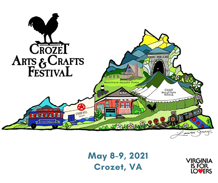 Crozet Spring Arts and Crafts Festival 2021 image