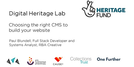 Choosing the right CMS to build your website tickets