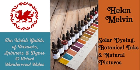 Solar Dyeing, Botanical Inks and Natural Pictures with Helen Melvin tickets