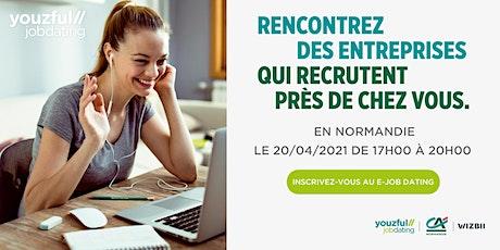 E-Job Dating Normandie : décrochez un emploi ! billets