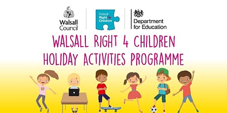 Walsall  Holiday and Activity Programme  (Summer) tickets
