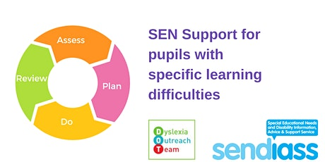 SEN Support for Pupils with Specific Learning Difficulties tickets