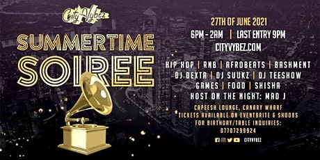 City Vybez Presents Summertime Soiree tickets