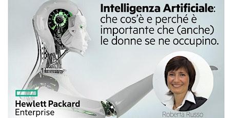 STEMintheCity - Intelligenza Artificiale  con HPE biglietti