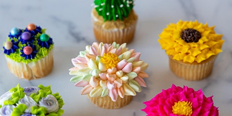 Icing Flower Cupcake Decorating Class tickets