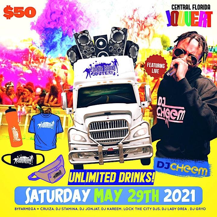 Zombie e Island Jouvert Orlando Carnival 2021 image