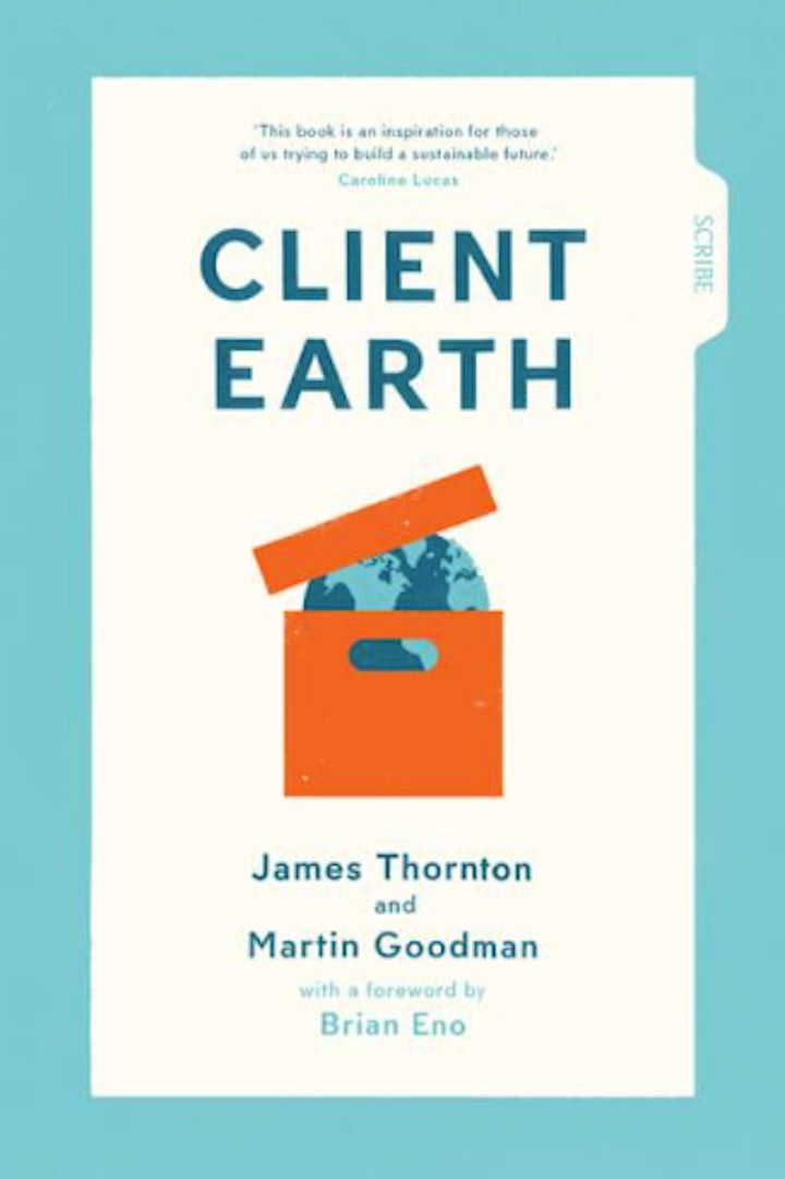 The Green Swans Book Club with James Thornton- hosted by Volans image