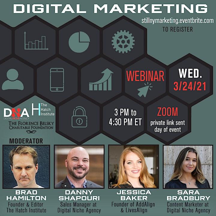 Still NY: Digital Marketing Webinar image