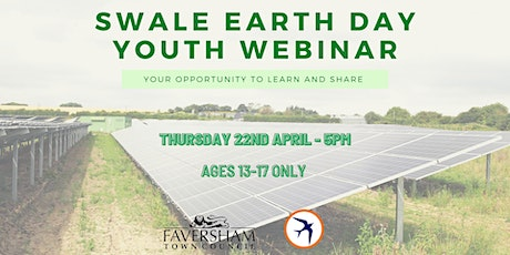 Swale Earth Day Youth Webinar: your opportunity  to learn and share tickets
