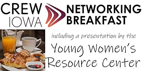 CREW Iowa - Networking Breakfast tickets