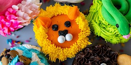 Zoo Animal Cupcake Decorating Class tickets