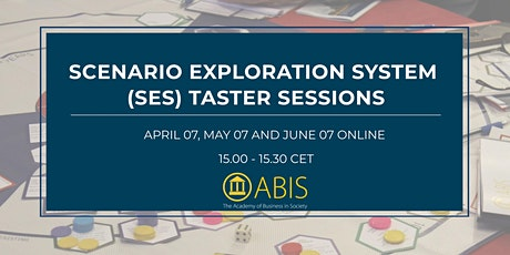 Scenario Exploration System (SES) Taster Sessions tickets