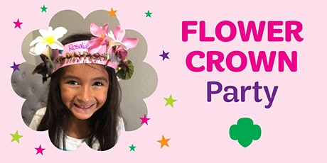 Girl Scouts Flower Crown Party tickets
